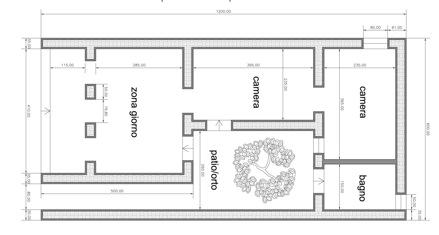 Un tetto per tutti time for africa for Pianta casa 70 mq