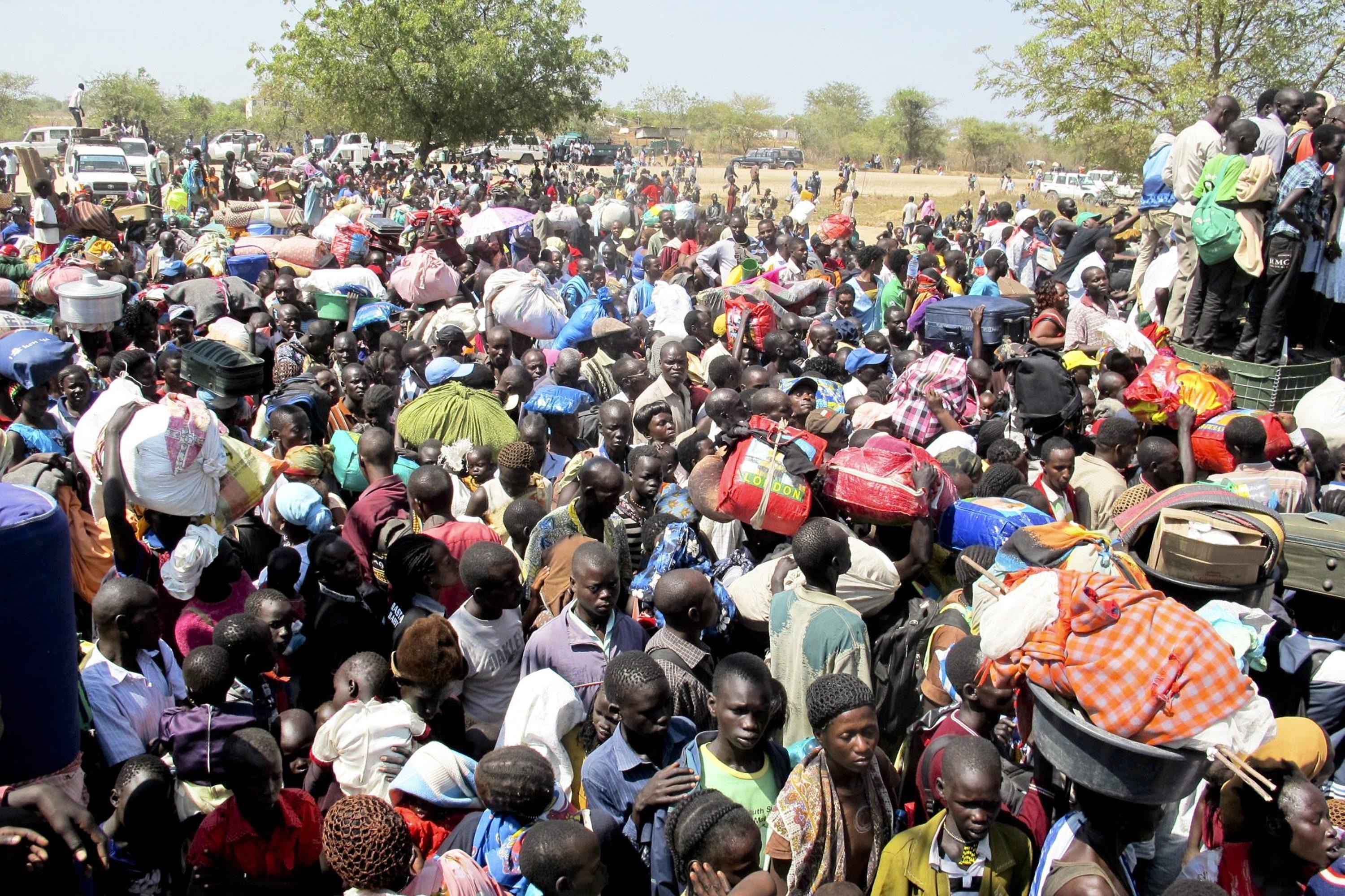 Civilians seek protection at UNMISS compound after fighting in Juba